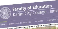 Faculty of Education KCC